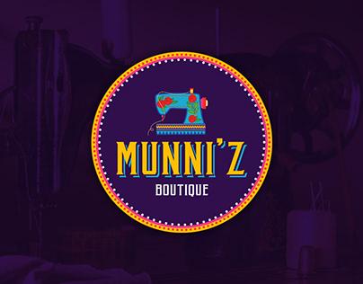Munni'z Boutique - Branding