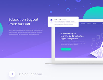 Education Layout Pack
