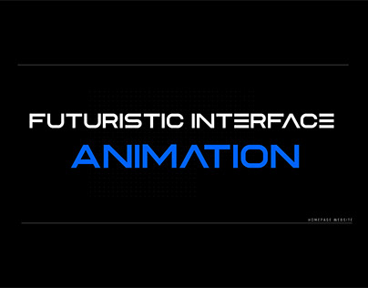 Futuristic Interface Animation