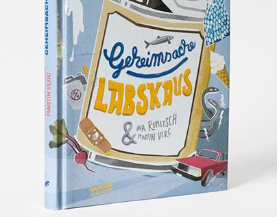 """Book Illustration """"Geheimsache Labskaus"""""""