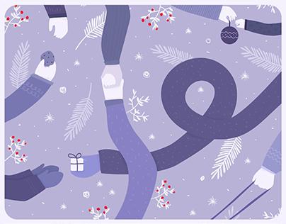 A Tender Winter - Milka Design Challenge