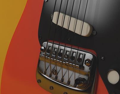 Fender Bronco test renders