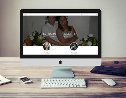 Everson e Gabriela - Site