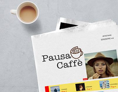 logo per il giornale pausa caffè