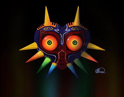 Digital Art - Majora's Mask