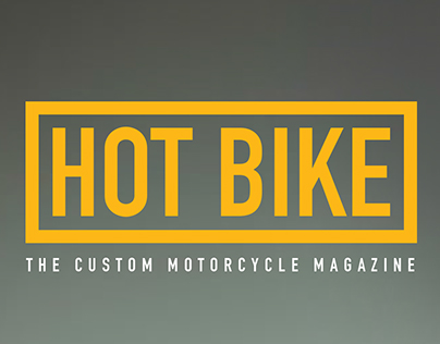 Hot Bike Magazine Redesign