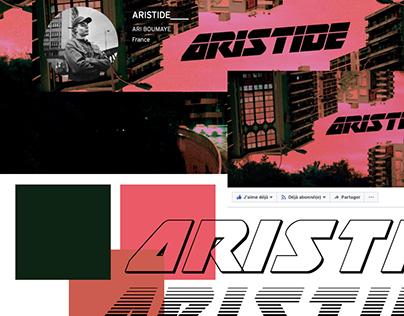 visual identity for Aristide / 2017