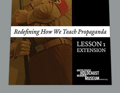lessons plans for teaching propaganda