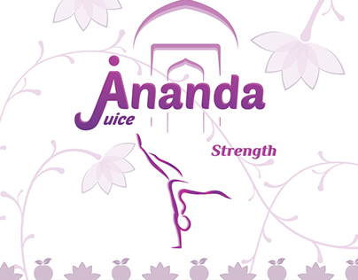 Ananda Juice - Can Labels & Box Design