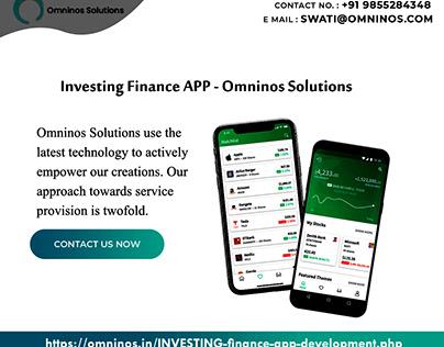 Investing Finance APP - Omninos Solutions