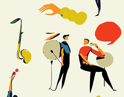 Editoral Illustrations: Savings