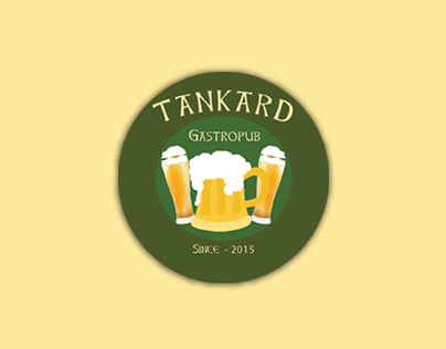Tankard GastroPub Brand Image