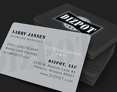 DIZPOT Business Cards