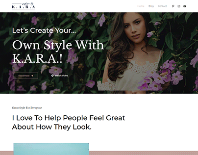 Astra blog wordpress website