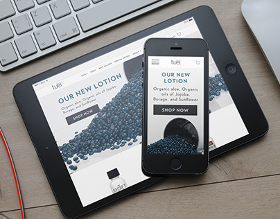 Tuél Website Re-Design