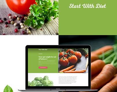 Healthy diet website
