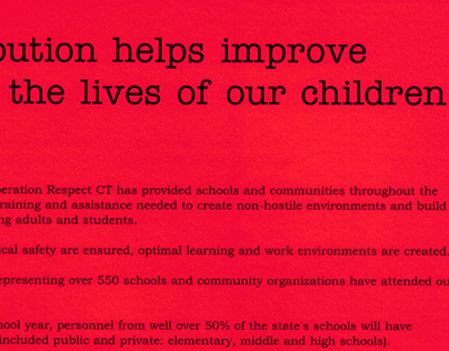 Operation Respect - Brochure with Tearoff (Print)