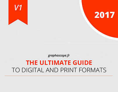 GUIDE TO DIGITAL AND PRINT FORMATS