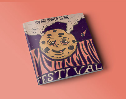 Moonman Festival Invitation
