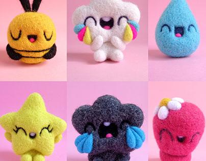 Tiny Toys I, miniature Art Toys