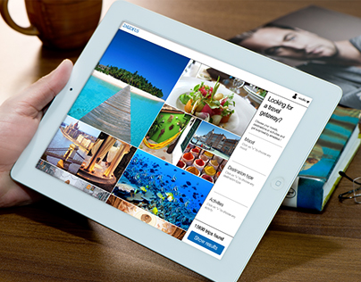 Pitch - Creation of an inspirational travel website
