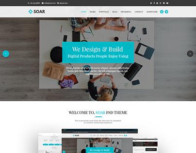 Soar Corporate Multipurpose HTML Template