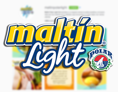Diseños para Maltín Polar Light · 2014-2015