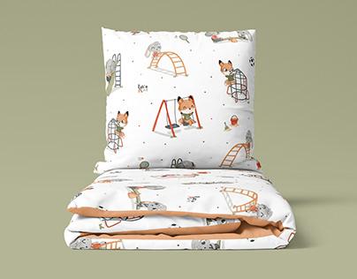Playground - textile pattern design