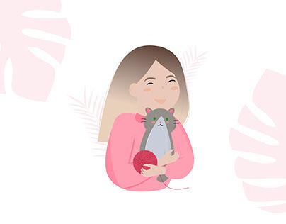 Character illustration   Иллюстрация персонажа