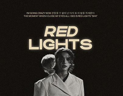 Red Lights Stray Kids Poster
