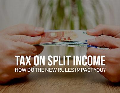 """Tax on Split Income (""""TOSI"""")"""