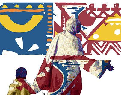Nubian Mural Painting