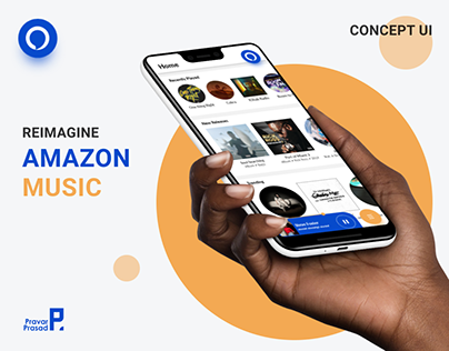 Amazon Music Redesign