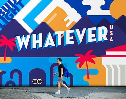 Bud Light Whatever USA Event Branding & Identity
