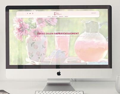 Rose Lemonade Web Page
