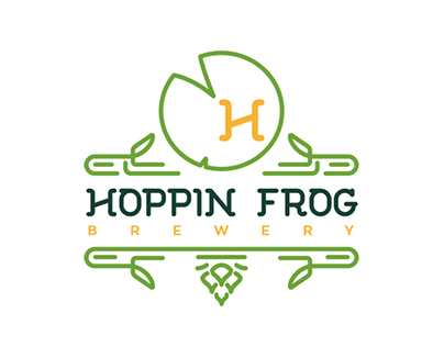 Hoppin Frog Brewery Rebrand