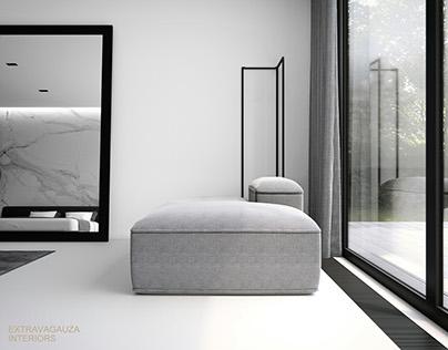 Bedroom Calacatta