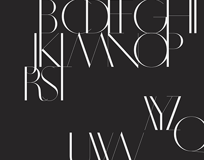 Works / 2013 | Typeface: SS Clematis - Roman