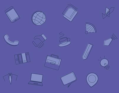 Icon Designing - Corporate