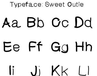 Exploratory Create Typeface