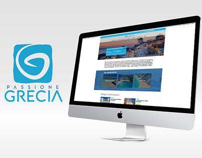 Passione Grecia website design