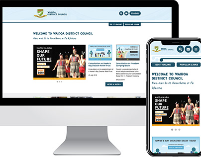 Local Government Website Design