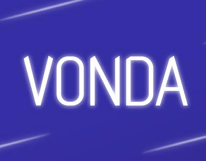 Tipografía Vonda