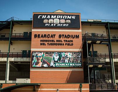 Northwest Campus Branding - Bearcat Stadium