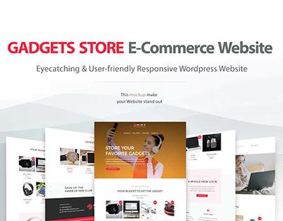 Gadgets Store | E-commerce Responsive Website