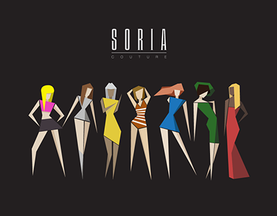 SORIA Couture - Logo & Design