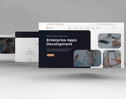 ScienTech - Modern Web Design for IT Industry