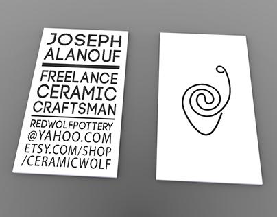 Branding - Joseph Alanouf (Red Wolf Pottery)