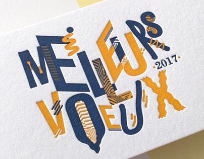 Vœux 2017 Clément Branger