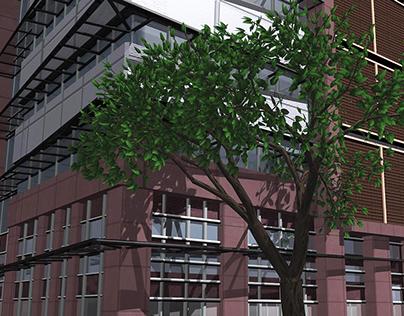 3D Modeling,Commercial Render Building, texture, Props
